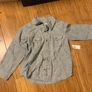 Old Navy Button Up Size 4T
